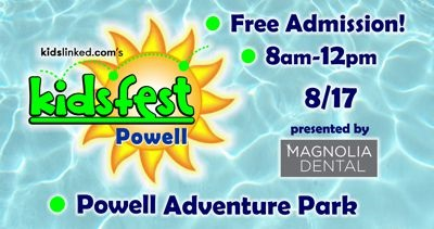 Powell KidsFest 2019 presented by Magnolia Dental