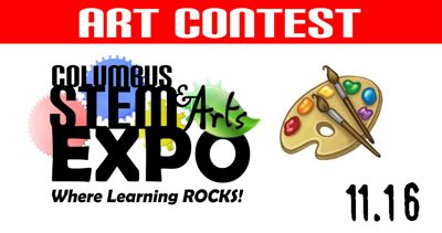 Art Competition at 2019 Greater Columbus STEM & Arts Expo