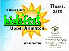 2020 Upper Arlington KidsFest and Camp Fair presented by the Primrose School of Columbus Downtown and of Grandview