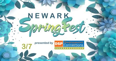 2021 Newark SpringFest presented by DSP Employment Connections