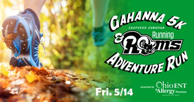 2021 Gahanna Running Rams 5k or Adventure Run Presented by Ohio ENT & Allergy Physicians - Live Race!