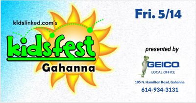 2021 Gahanna Kidsfest and Jasmine and Black Ranger Meet and Greet Presented by Geico of Gahanna