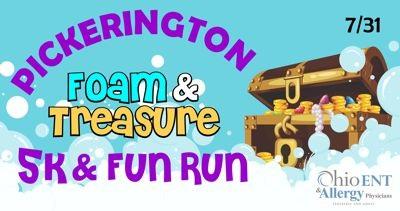 2021 Pickerington Foam Fun Run & 5k Presented by Ohio ENT & Allergy Physicians