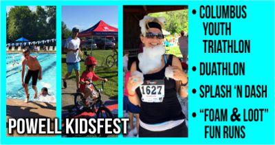 2016 Columbus Youth Triathlon/Duathlon & Fun Runs @ Powell KidsFest