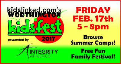 Worthington KidsFest  & Summer Camp Expo 2017