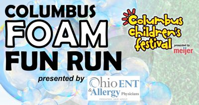 2018 Columbus Foam Fun Runs @ Columbus Children's Festival