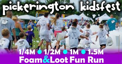 2019 Pickerington KidsFest Foam & Loot Fun Runs