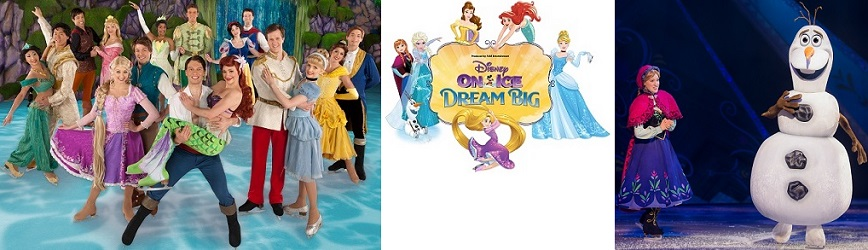 Join All Your Favorite Friends at Disney On Ice Presents Dream Big!