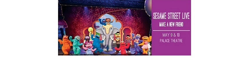 Join Friends, Like Elmo & Grover, at CAPA Sesame Street Live!