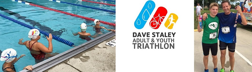 Register for 35th Annual Dave Staley Triathlon & Youth Triathlon!