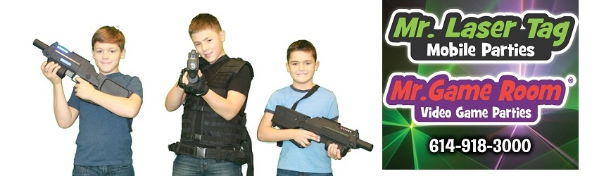 Bring the Party to Your Door Step with Mr. Laser Tag and Mr. Game Room!