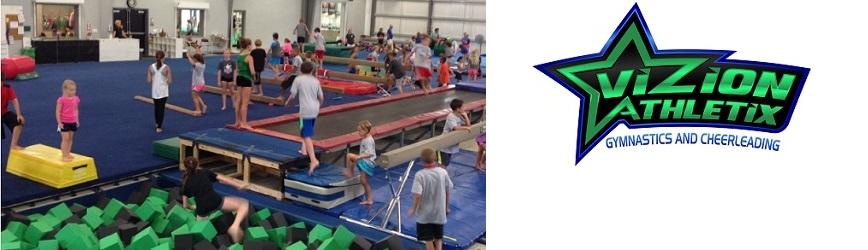Register Now at Vizion Athletix Gymnastics & Cheerleading!