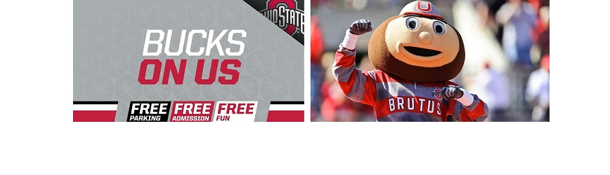 Attend 20+ OSU Sports for FREE! Bucks On Us!