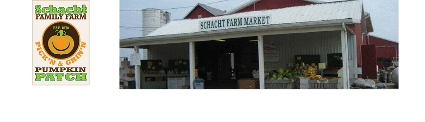 """Bring Your Family to Schacht Farm for """"Pick Your Own""""!"""