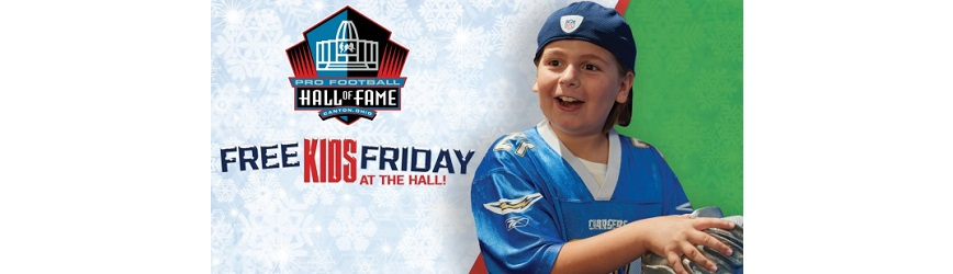 Spend Your Black Friday at the Pro Football Hall of Fame!