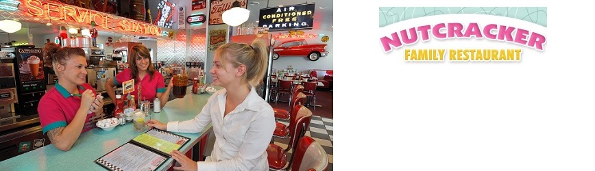 Bring the Family to Nutcracker 50s Family Restaurant & Step Back in Time!