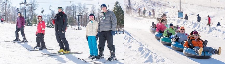 Make It a Four Day Weekend (Thanks to President's Day!) at Snow Trails!