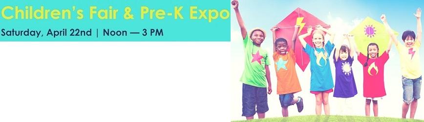 FREE Children's Fair & Pre-K Expo This Saturday!