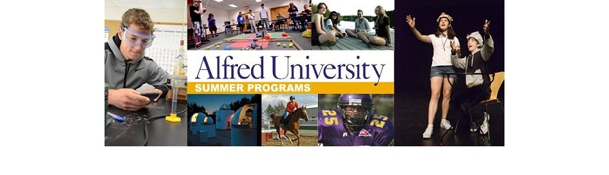 Register for Week-Long Camps at Alfred University!