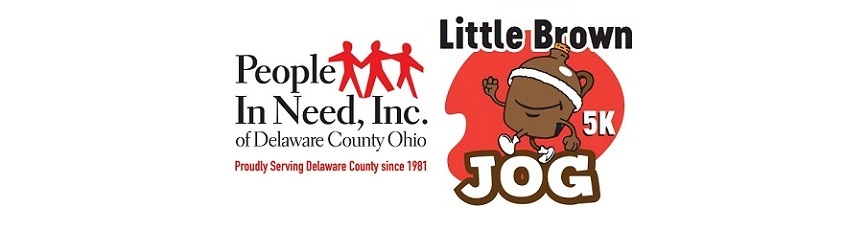 Register Now for People In Need, Inc. of Delaware County Ohio's Little Brown Jog!