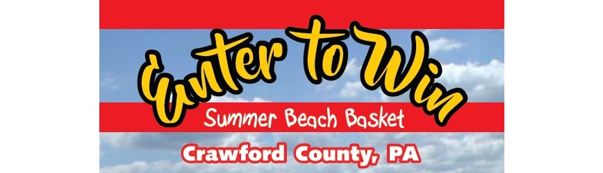 Enter to WIN a Summer Beach Basket for Four from Crawford County Convention and Visitors Bureau!