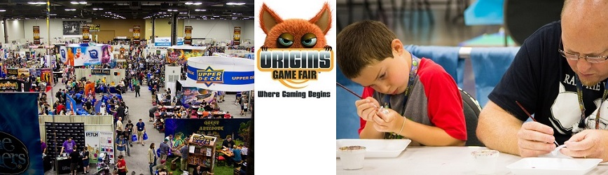 Bring the Whole Famiy to Origins Game Fair for Gaming, Activities & Fun for All!