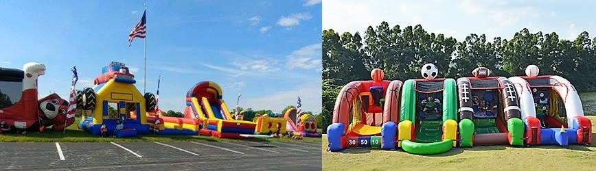 Reserve Your Inflatable Fun with Teamwork Inflatables & Fundraising!