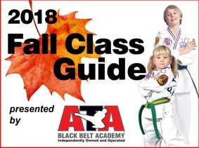 Your Child's Fall Classes!