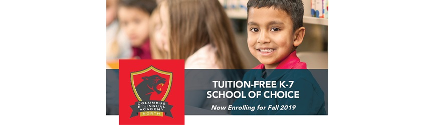 Columbus Bilingual Academy North is Now Enrolling for Fall 2019!