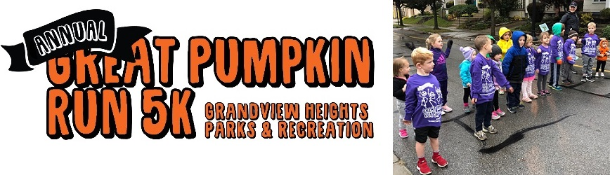 Register Your Child for the Tiny Tots Race, part of the Great Pumpkin Run 5k!