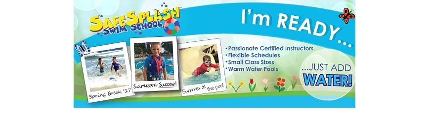 Sign Up Your Child Swim Lessons with Safesplash Swim School!