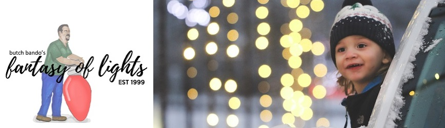 Build Memories with Millions of Lights at Butch Bando's Fantasy of Lights!