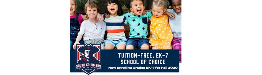 Enroll at Top-Rated South Columbus Preparatory Academy of Southfield Offering Tuition-Free EK-7!
