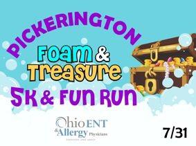 Foam & Treasure 5k & Fun Run!