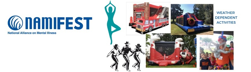 Join NAMI for NAMIFEST, a FREE Event on Saturday, 10/9!