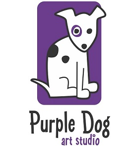 Purple Dog Art Logo