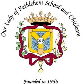 Our Lady of Bethlehem School and Childcare Logo