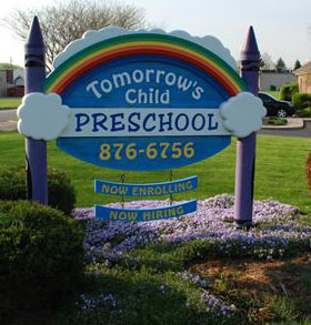 Tomorrow's Child Preschool and Learning Center Logo