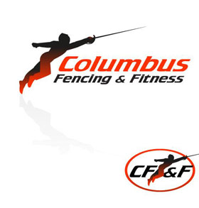 Columbus Fencing & Fitness Logo