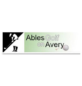 Ables Golf on Avery Logo