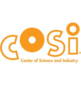 COSI, The Center of Science and Industry Logo