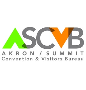 Akron/Summit County Convention & Visitors Bureau Logo
