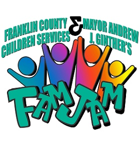 Franklin County Children Services - Mayor Ginther's & FCCS FamJam Logo