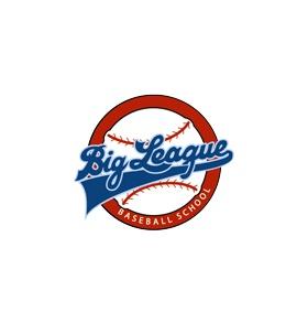 Big League Baseball School Logo