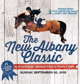 The 18th Annual New Albany Classic Invitational Grand Prix & Family Day Logo
