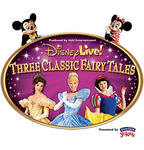 Disney Live! Three Classic Fairy Tales Logo