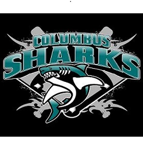 Columbus Sharks 8U Logo