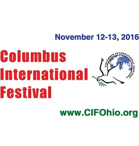 2016 Columbus International Festival Logo