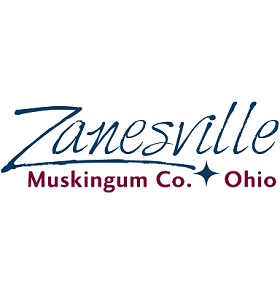 Zanesville-Muskingum County Convention and Visitor Bureau Logo