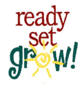 Ready Set Grow! Logo